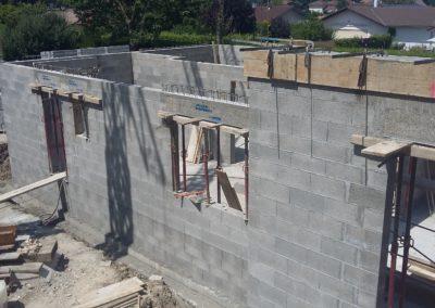 élévation murs